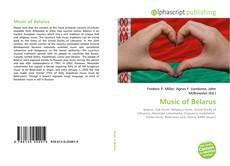 Couverture de Music of Belarus