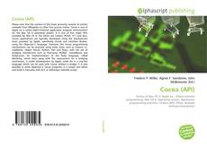 Couverture de Cocoa (API)