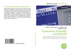 Bookcover of Comparison of OpenGL and Direct3D