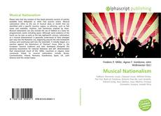 Capa do livro de Musical Nationalism