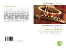 Bookcover of Free Improvisation