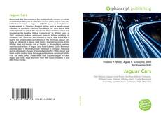 Обложка Jaguar Cars