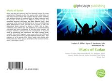 Couverture de Music of Sudan