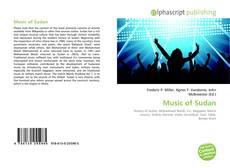 Bookcover of Music of Sudan