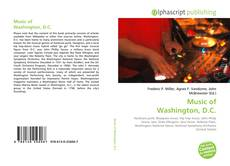 Buchcover von Music of Washington, D.C.