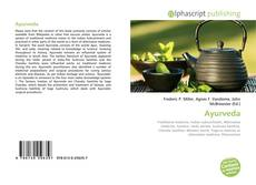 Bookcover of Ayurveda