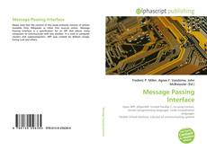Bookcover of Message Passing Interface