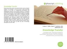 Knowledge Transfer kitap kapağı