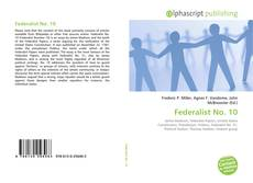 Bookcover of Federalist No. 10