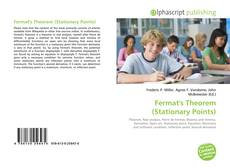 Bookcover of Fermat's Theorem (Stationary Points)
