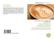 Bookcover of Java Platform, Standard Edition