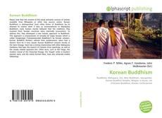 Обложка Korean Buddhism