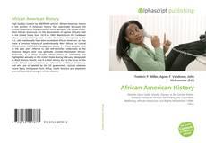 Capa do livro de African American History