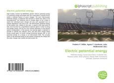 Electric potential energy kitap kapağı