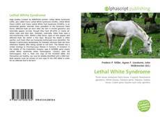 Copertina di Lethal White Syndrome