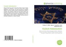 Couverture de Kodesh Hakodashim