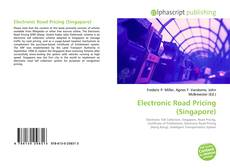 Bookcover of Electronic Road Pricing (Singapore)