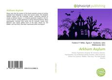 Bookcover of Arkham Asylum