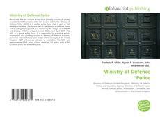 Capa do livro de Ministry of Defence Police