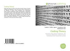 Bookcover of Coding Theory