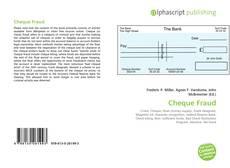 Borítókép a  Cheque Fraud - hoz