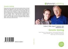 Genetic testing kitap kapağı