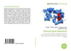 Bookcover of Ahmad Shah Massoud