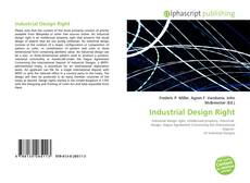 Bookcover of Industrial Design Right