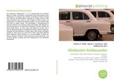 Bookcover of Hindustan Ambassador