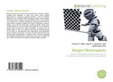 Mugen Motorsports kitap kapağı