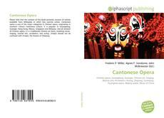 Bookcover of Cantonese Opera
