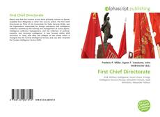 Bookcover of First Chief Directorate