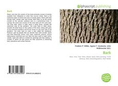 Bookcover of Bark