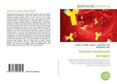 Bookcover of Human Leukocyte Antigen