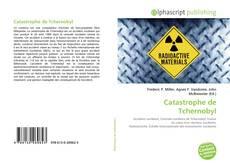 Buchcover von Catastrophe de Tchernobyl