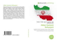 Copertina di Akbar Hashemi Rafsanjani