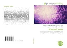Borítókép a  Binaural beats - hoz