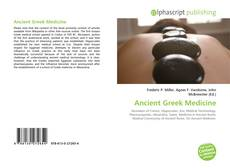 Portada del libro de Ancient Greek Medicine