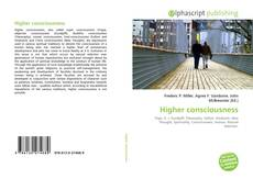 Buchcover von Higher consciousness