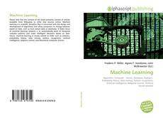 Bookcover of Machine Learning