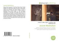 Buchcover von Jewish Meditation