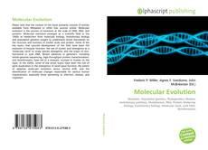 Bookcover of Molecular Evolution