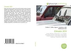 Bookcover of Citroën 2CV