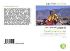 Bookcover of Good Samaritan Law