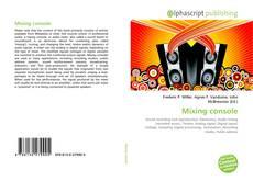 Copertina di Mixing console