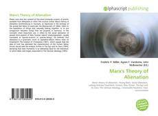Bookcover of Marx's Theory of Alienation