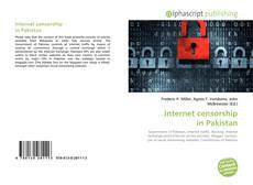 Buchcover von Internet censorship in Pakistan