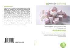 Bioadhesives kitap kapağı