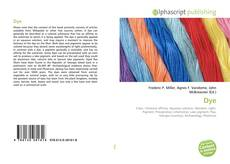 Bookcover of Dye