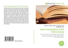 Bookcover of Latin Translations of the 12th Century